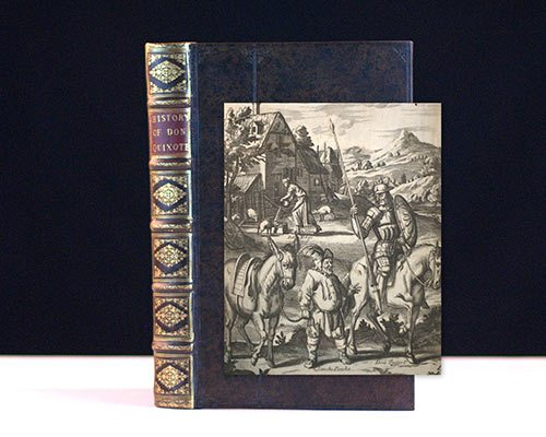 First Illustrated Edition in English of Cervantes' Masterpiece Don Quixote