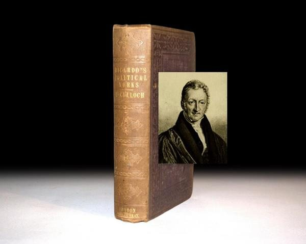 First Edition of The Works of David Ricardo, Rare Book