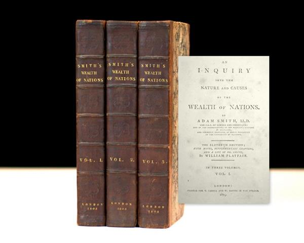 Adam Smith's An Inquiry Into the Nature and Causes of the Wealth of Nations