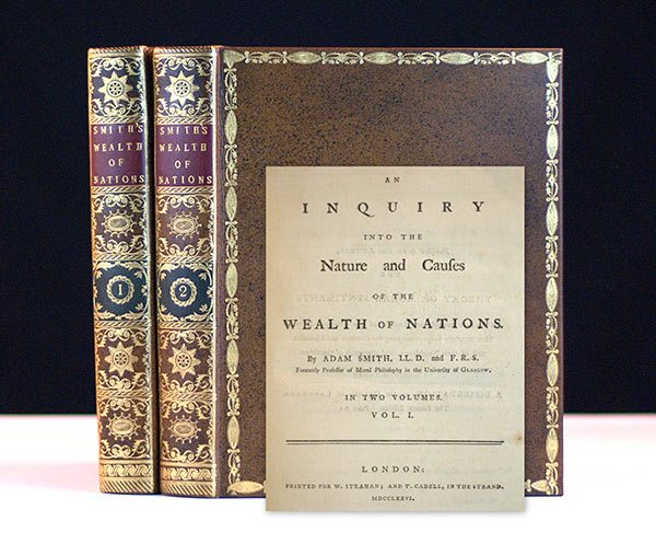 adam smith book review wealth of An inquiry into the nature and causes of the wealth of nations  on adam smith's wealth of nations: a philosophical  book review: on adam smith's wealth.