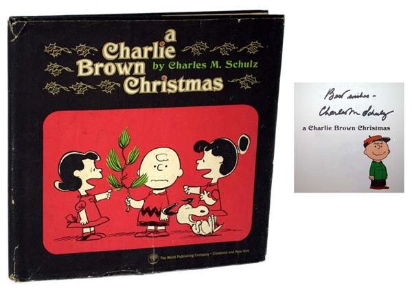 "First Edition of ""A Charlie Brown Christmas"" by Charles Shulz"