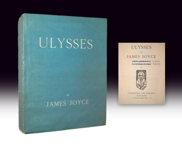 James Joyce Ulysses Rare First Edition