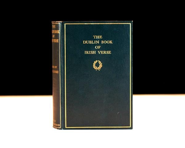 James Joyce W B Yeats The Dublin Book of Irish Verse First Edition Rare Book