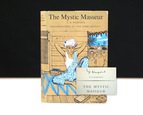 V.S. Naipaul Rare First Edition The Mystic Masseur