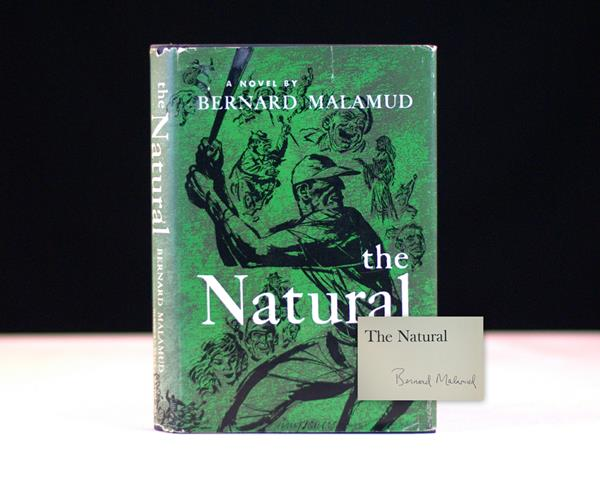 The Natural by Bernard Malamud Signed Rare First Edition