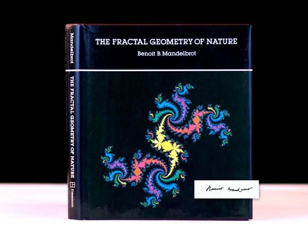 The Fractal of Geometry by Benoit Mandelbrot, Rare and Signed