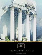 Raptis Rare Books E-Catalogue Fall 2015 cover