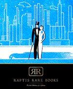 Raptis Rare Books Summer Online Catalog Cover