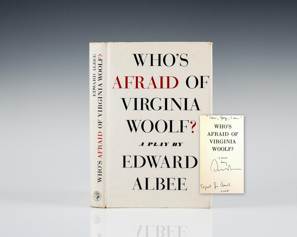 who s afraid of virginia woolf Who's afraid of virginia woolf is a 1962 broadway play about the troubled marriage of a middle-aged couple named martha and george the play critiques the idea of the perfect american family and challenges social expectations about life, love and family.