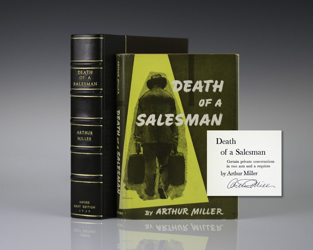 an analysis of the title of the book death of a salesman