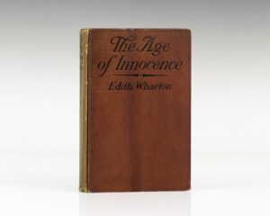Age of Innocence first edition by Edith Wharton