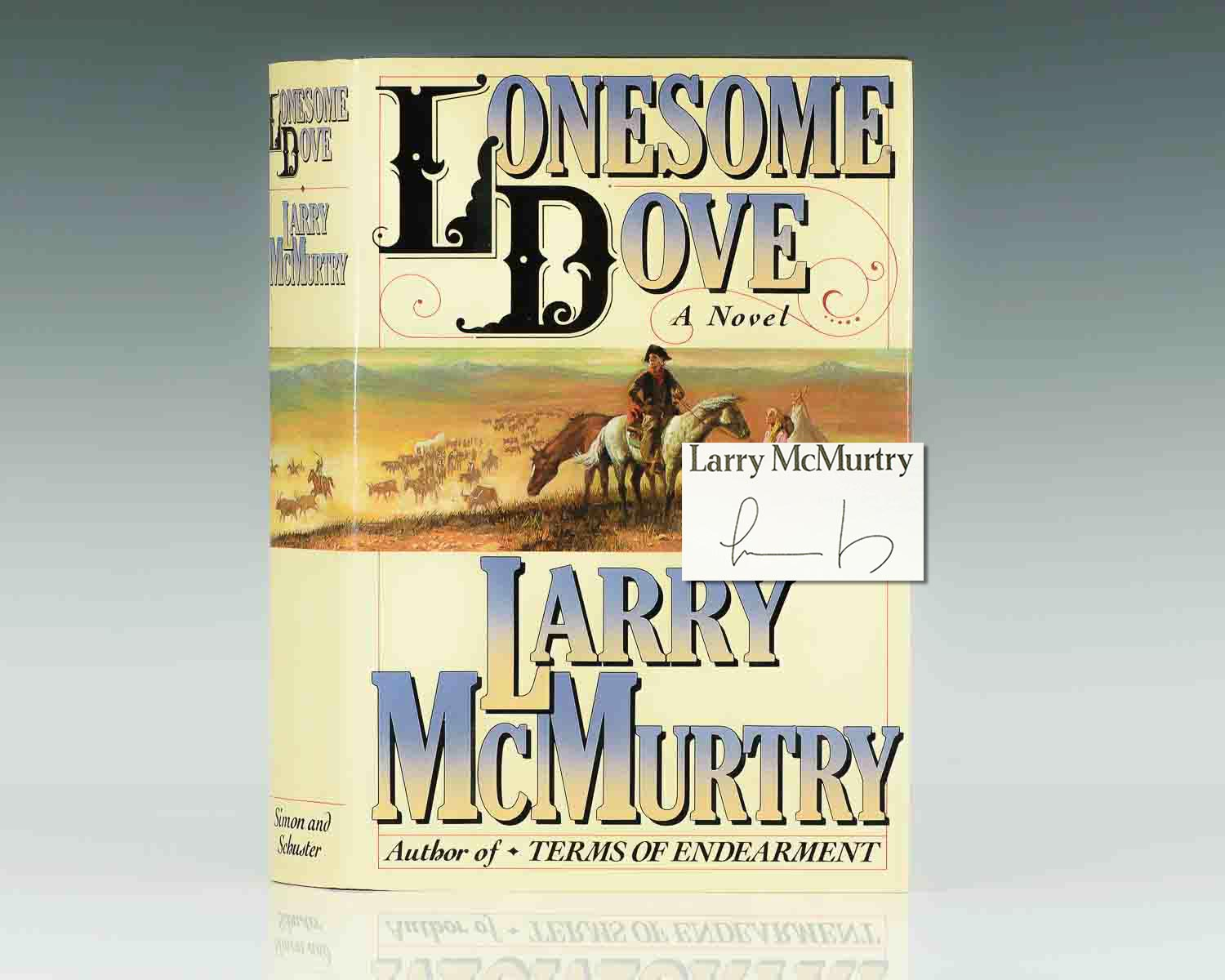 mcmurtry lonesome  Lonesome Dove.