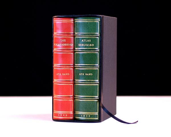 The Fountainhead and Atlas Shrugged by Ayn Rand rare first edition