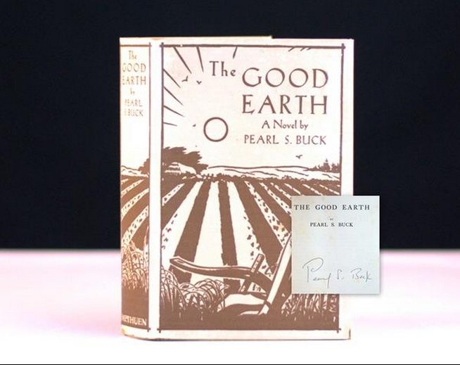 The Good Earth by Pearl S. Buck Rare First Edition