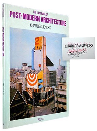 The Language Of Post Modern Architecture Raptis Rare Books Fine Rare And Antiquarian First Edition Books For Sale