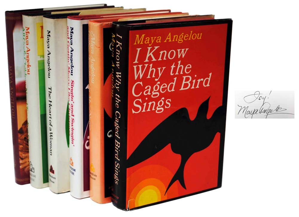 I Know Why the Caged Bird Sings, Gather Together In My Name ...