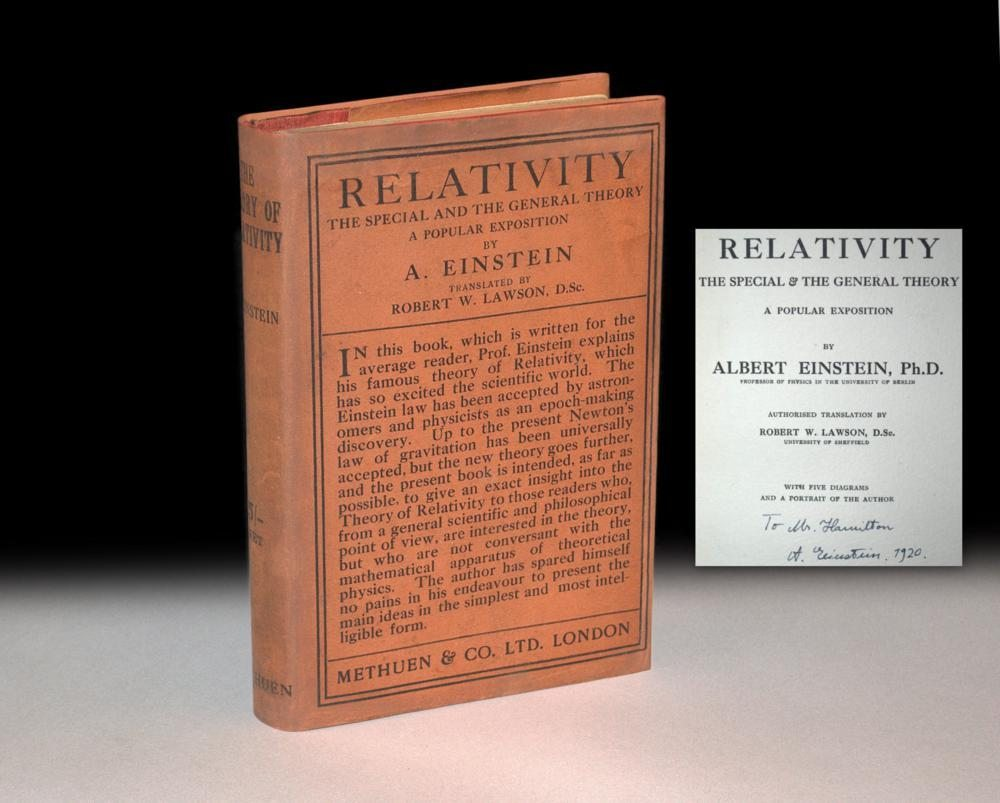 einsteins special theory of relativity paper
