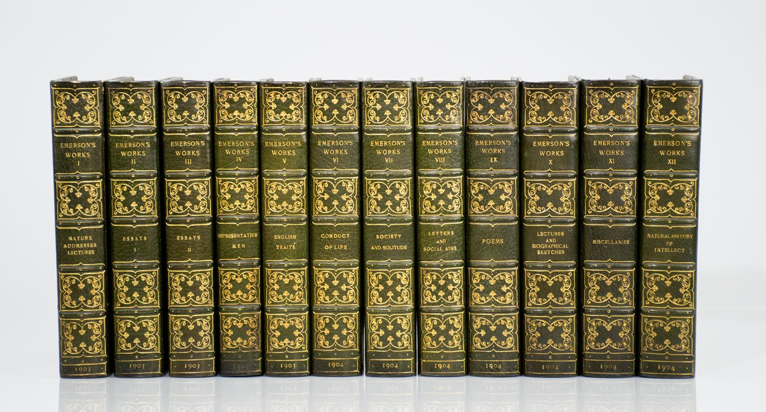 centenary emersons essay Emerson delivered the divinity school address at harvard on july 15, 1838,   the first volume (nature, addresses, and lectures) of the centenary edition and  in  library the complete essays and other writings of ralph waldo emerson.