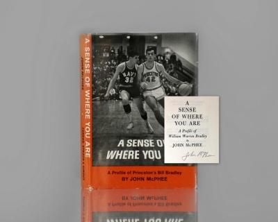 A Sense of Where You Are: A Profile of Princeton's Bill Bradley