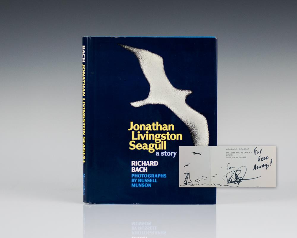 jonathan livingston seagull by richard bach essay Jonathan livingston seagull essaysit s a story about a seagull named jonathan who tries to overcome the limitations around him he strongly believes that all the nature around is given not only to be a part of it but is given to discover and find the true meaning of life and flying.