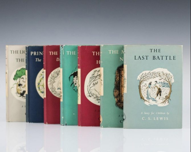Complete 7 Volumes of Chronicles of Narnia by C. S. Lewis