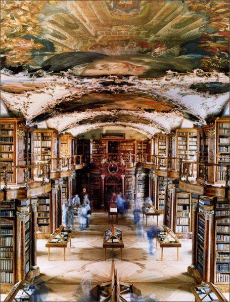 Melk Monastery Library in Austria