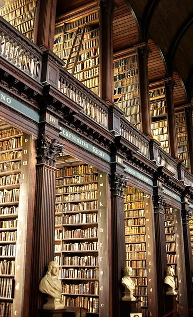 Trinity Library in Dublin rare books