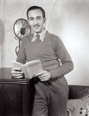 Walt Disney reading