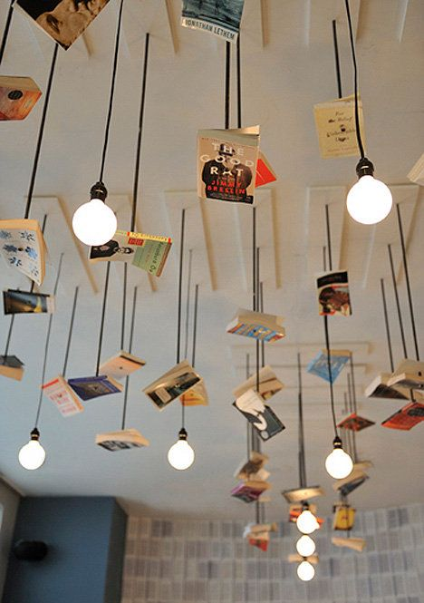 books and lights
