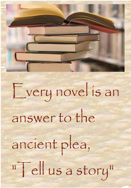 novels answer questions of time