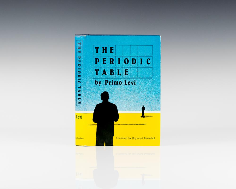 The periodic table primo levi first edition signed the periodic table gamestrikefo Choice Image