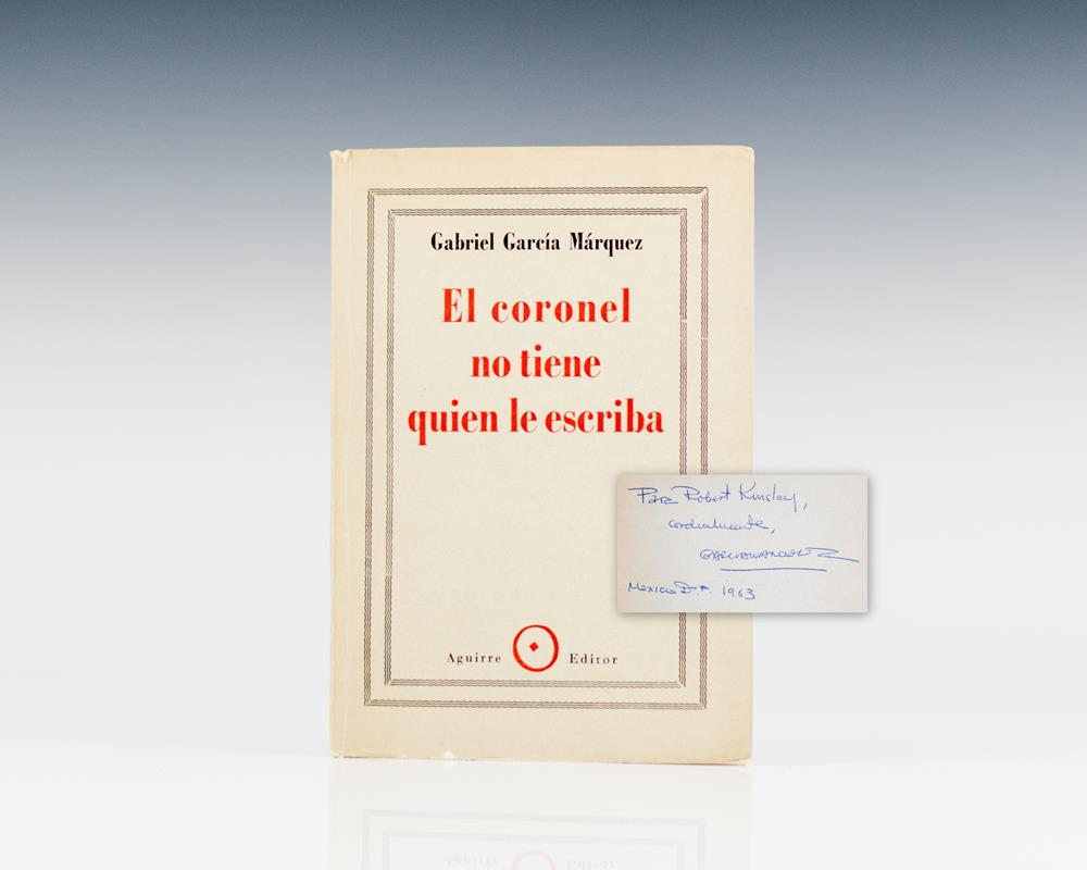 gabriel garcia marquez no one writes to the colonel Friday's are different every other day of the week, the colonel and his ailing wife  fight a constant battle against poverty and monotony, scraping together the.