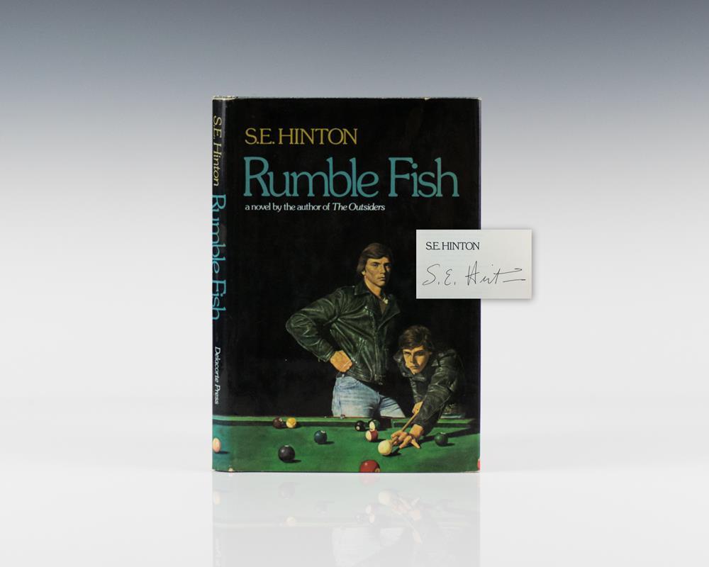 Rumble fish raptis rare books for Rumble fish book