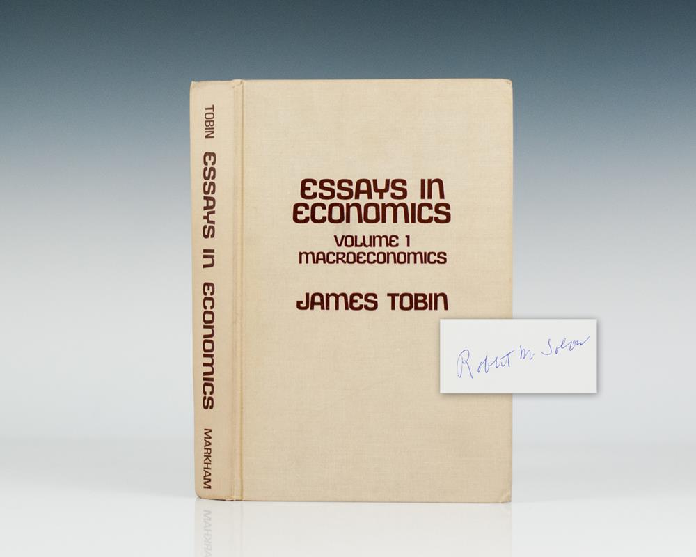 essays in economics volume macroeconomics