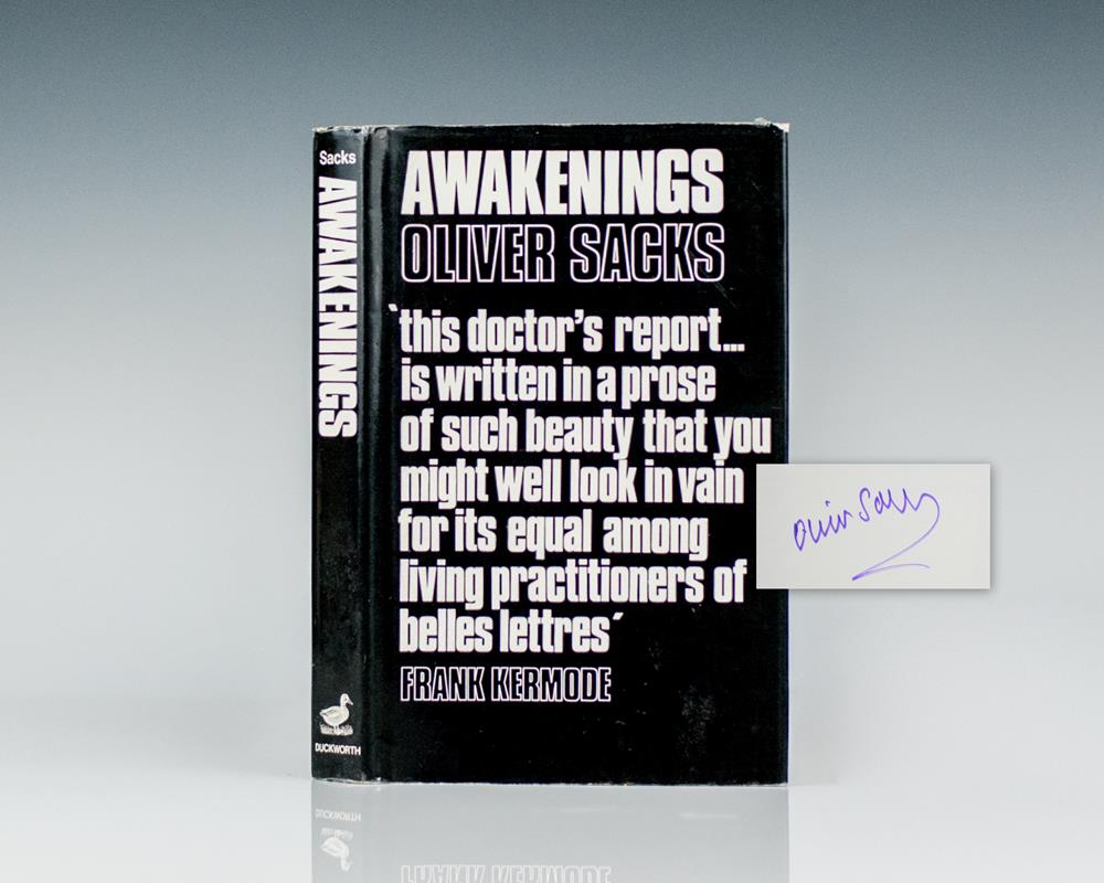 The Awakenings Oliver Sacks First Edition Signed Rare Book