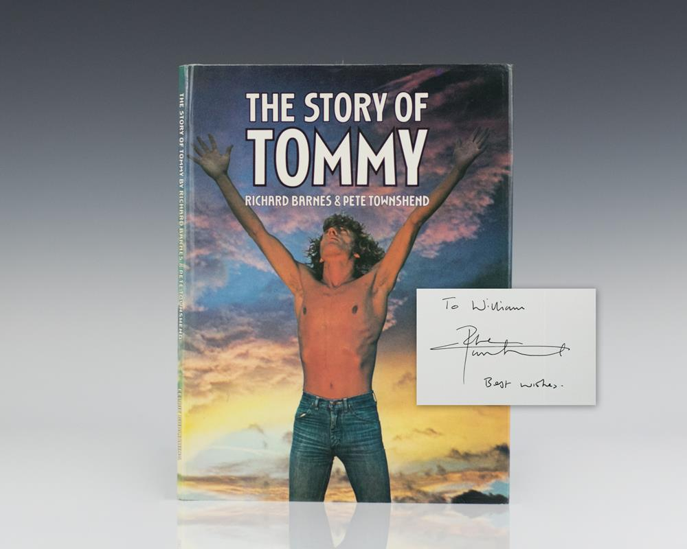 First Edition of The Story of Tommy; inscribed by Pete Townshend