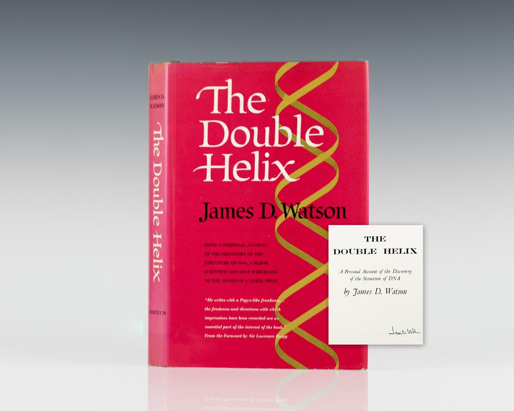 an analysis of the double helix by james d watson in medical research literature To add to the insult, watson and crick's report of the double helix did not fully credit the work of king's as being essential to the construction of their model, although the king's team did enjoy co-publication of their data alongside the double helix article, in the form of.