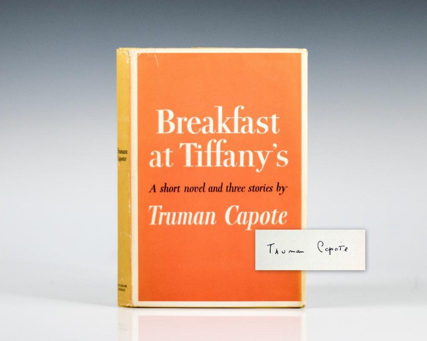 First Edition Breakfast at Tiffany's by Truman Capote