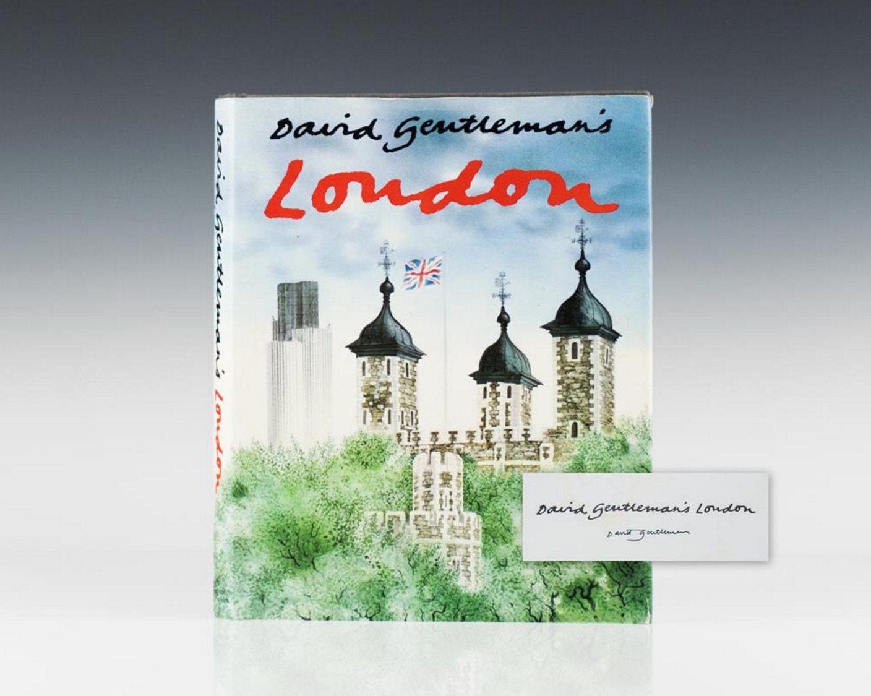 First Edition David Gentleman's London