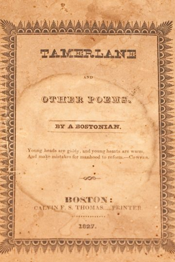Tamerlane and Other Poems by Edgar Allen Poe