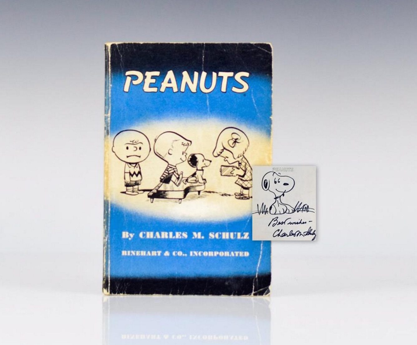 First Edition of Peanuts by Charles Schulz