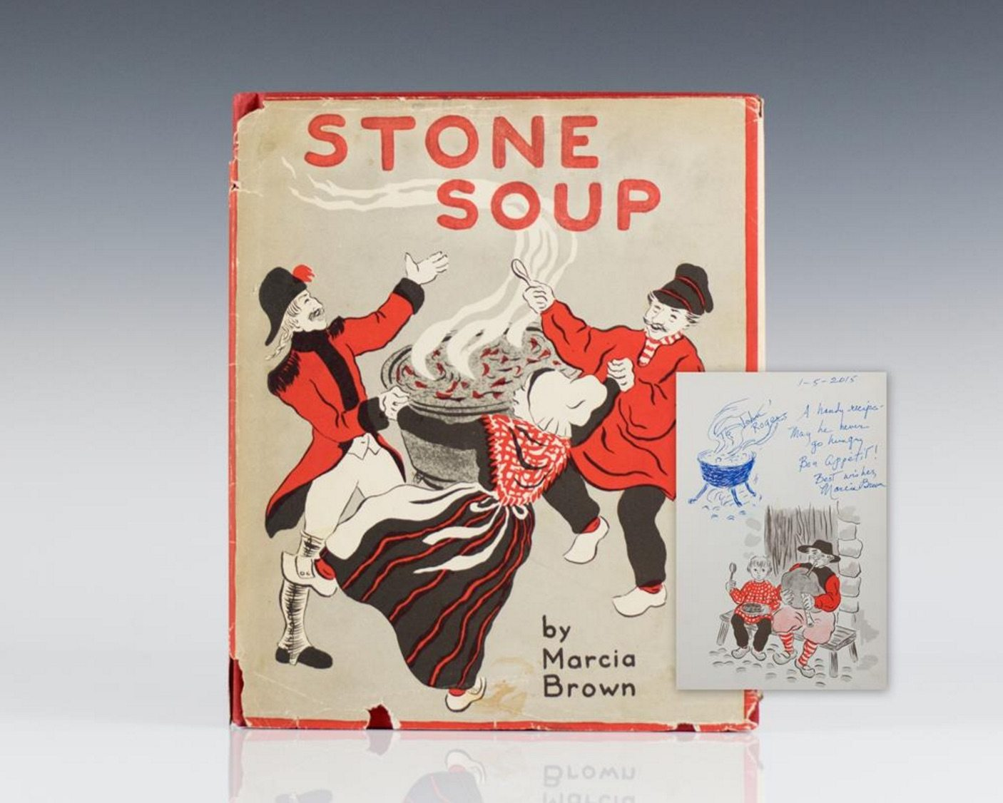 First Edition Stone Soup by Marcia Brown