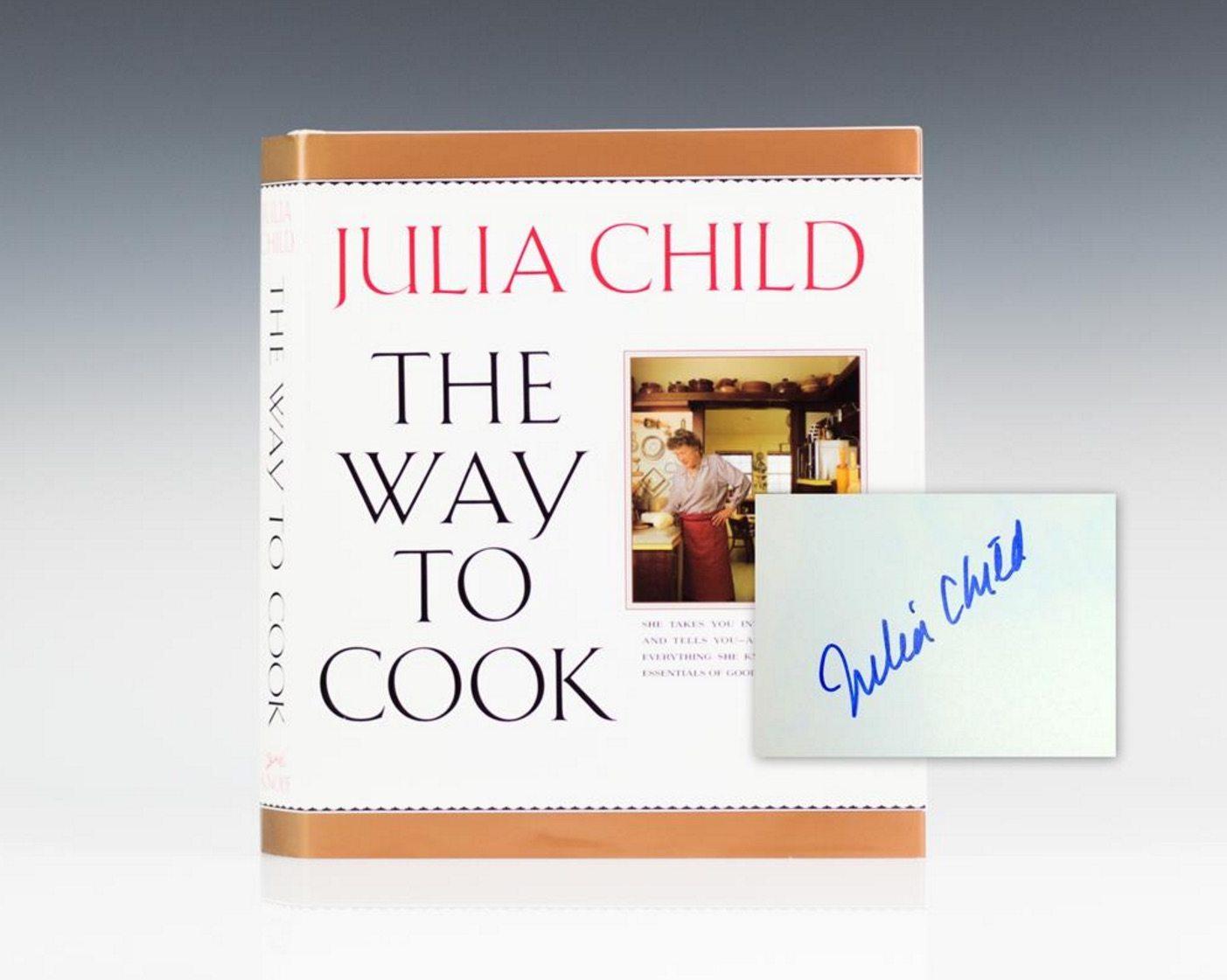 Julia Child First Edition rare book