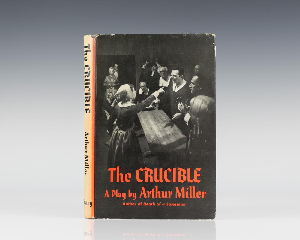 a literary analysis of justice in the crucible by arthur miller This lesson will summarize arthur miller's, ''the crucible'' and provide explanation and analysis of two key themes in the play themes in the crucible.