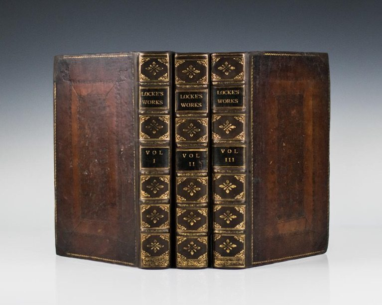 First Edition of The Complete Works of John Locke
