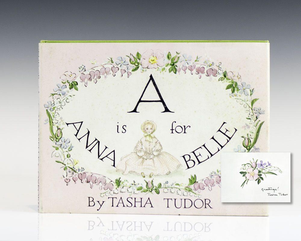 A is for annabelle tasha tudor first edition signed for Tudor signatures