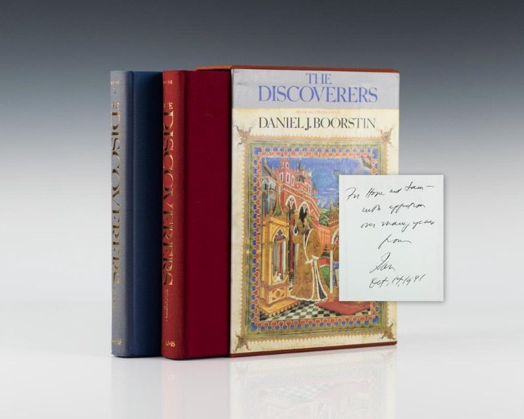 First edition of The Discoverers by Daniel J. Boorstin