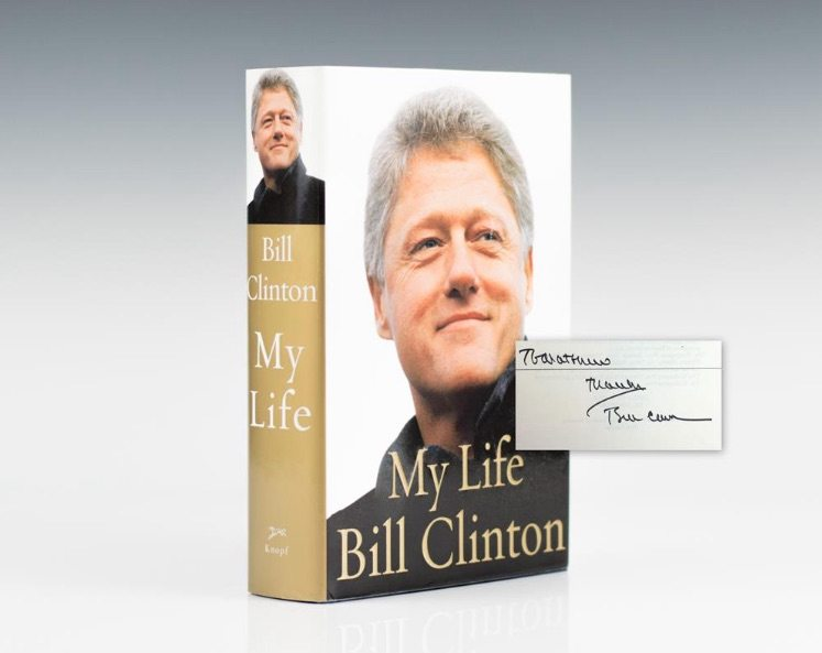 First edition of My Life by Bill Clinton