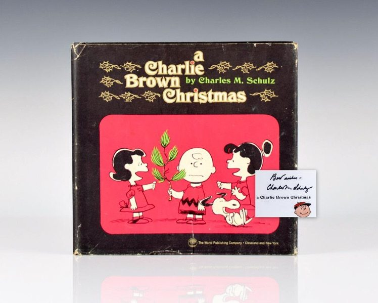 First edition of A Charlie Brown Christmas by Charles Schulz, signed