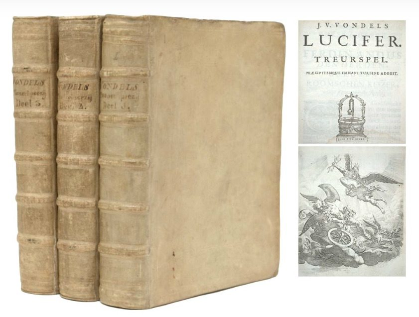 Lucifer rare first edition